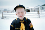 Portraits Photo Originals - Cub Scout Colorado by Jan Faul