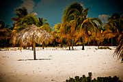 Sirena Photo Acrylic Prints - Cuba - Playa Sirena Acrylic Print by Amador Esquiu Marques