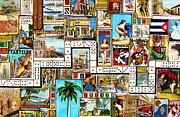 Cuba Mixed Media - Cubana by Joseph Sonday