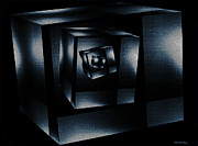 Cube In Cube Print by Ramon Martinez