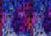 Visual Language Digital Art - Cubed 2 by Jack Zulli