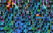 Visual Language Digital Art - Cubed 3 by Jack Zulli