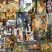 1907 Originals - Cubism 1907 to 1914 by Anders Hingel
