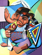 Anthony Falbo - Cubist Indian