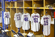 Dressing Room Photo Posters - Cubs Working Clothes Poster by David Bearden