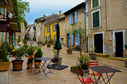 France Doors Framed Prints - Cucuron in Provence Framed Print by Dany Lison