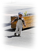 Innocent Smile Prints - Cuenca Kids 279 Print by Al Bourassa
