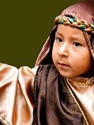 Baby Jesus Framed Prints - Cuenca Kids 317 Framed Print by Al Bourassa