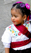 Earrings Photos - Cuenca Kids 351 by Al Bourassa