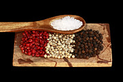 Peppercorns Posters - Culinary Delight Poster by Inspired Nature Photography By Shelley Myke