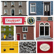 Brick Building Prints - Cultural Kilkenny Print by Semmick Photo
