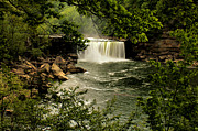 Matthew Winn Art - Cumberland Falls in Spring by Matthew Winn