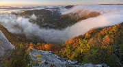 Pinnacle Overlook Prints - Cumberland Gap Print by Christian Heeb