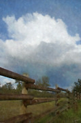 Mick Anderson - Cumulus Cloud and Fence
