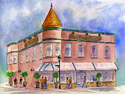 San Mateo County Prints - Cunhas Country Store Print by Diane Thornton