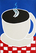 Cup Of Coffee Print by Matthew Brzostoski
