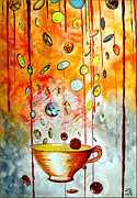 Change Painting Originals - Cup of Tea by Daniel Janda