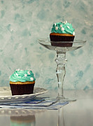 Stylized Food Posters - Cupcake Frenzy Poster by Inspired Nature Photography By Shelley Myke