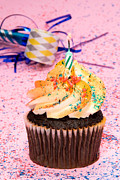 Candle Lit Prints - Cupcake party Print by Joe Belanger