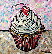 Tracy Levesque - Cupcake with Cherry