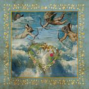 Cupid Print by Jolanta Prunskaite