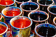 Hand Made Art - Cups by Bernard  Barcos