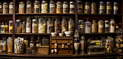 Chemists Medicines Framed Prints - Cure What Ails You Framed Print by Heather Applegate