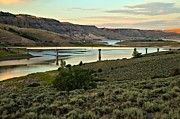 Gunnison Framed Prints - Curecanti Sunset Framed Print by Adam Jewell