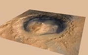 Science Photo Library - Curiosity rover in Gale...