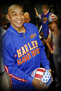 Globetrotters Prints - Curly Neal Camera Break Print by Robert Saunders Jr