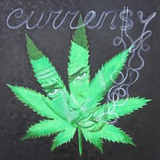 Rapper Paintings - Currensy by Jeepee Aero