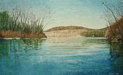 Kevin Schrader Art - Current River In Early Spring by Kevin Schrader