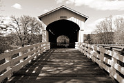 Tim Moore Prints - Currin Bridge Print by Tim Moore