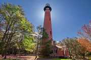 Mary Almond Prints - Currituck Beach Lighthouse  Print by Mary Almond