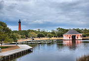 Landscape Framed Prints Framed Prints - Currituck Heritage Park II Framed Print by Steven Ainsworth