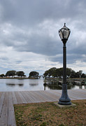 Currituck Art - Currituck Sound Boardwalk I by Steven Ainsworth