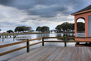 Currituck Art - Currituck Sound Boardwalk II by Steven Ainsworth
