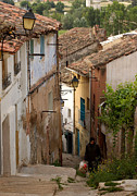 Old Houses Framed Prints - Currruca Slope of Calahorra Framed Print by RicardMN Photography