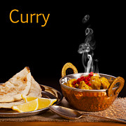 Bread Posters - Curry Concept Poster by Colin and Linda McKie