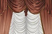 Curtain Print by Matthias Hauser