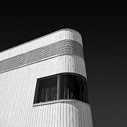 Monochrome Prints - Curved Window Print by David Bowman