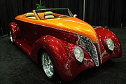 Custom Roadster Prints - Custom American Hotrod - 5D20372 Print by Wingsdomain Art and Photography