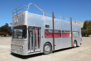 Buses Photos - Custom Artistic Double Decker Bus 5D25356 by Wingsdomain Art and Photography