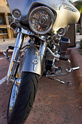 Harley Davidson Photos - Custom Bagger by Peter Chilelli
