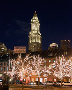 Jvitali Prints - Custom House Boston Print by Joann Vitali