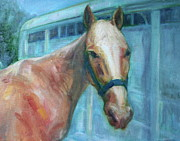 Custom Horse Portrait Prints - Custom Pet Portrait Painting - Original Artwork - Dog - Cat - Horse - Bird Print by Quin Sweetman