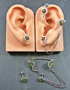 Gear Jewelry Originals - Customizable Ear Wrap/Earrings Set by Heather Jordan
