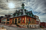 Clarksville Framed Prints - Customs House Museum Framed Print by Dan McManus