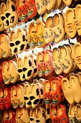 Clogs Posters - Cute Clogs Poster by Carol Groenen