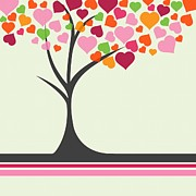 Anne Marie Baugh - Cute Hearts Tree